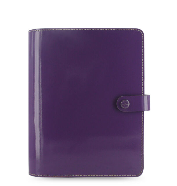 Filofax 2016 Malden Personal Purple Leather Organizer Agenda