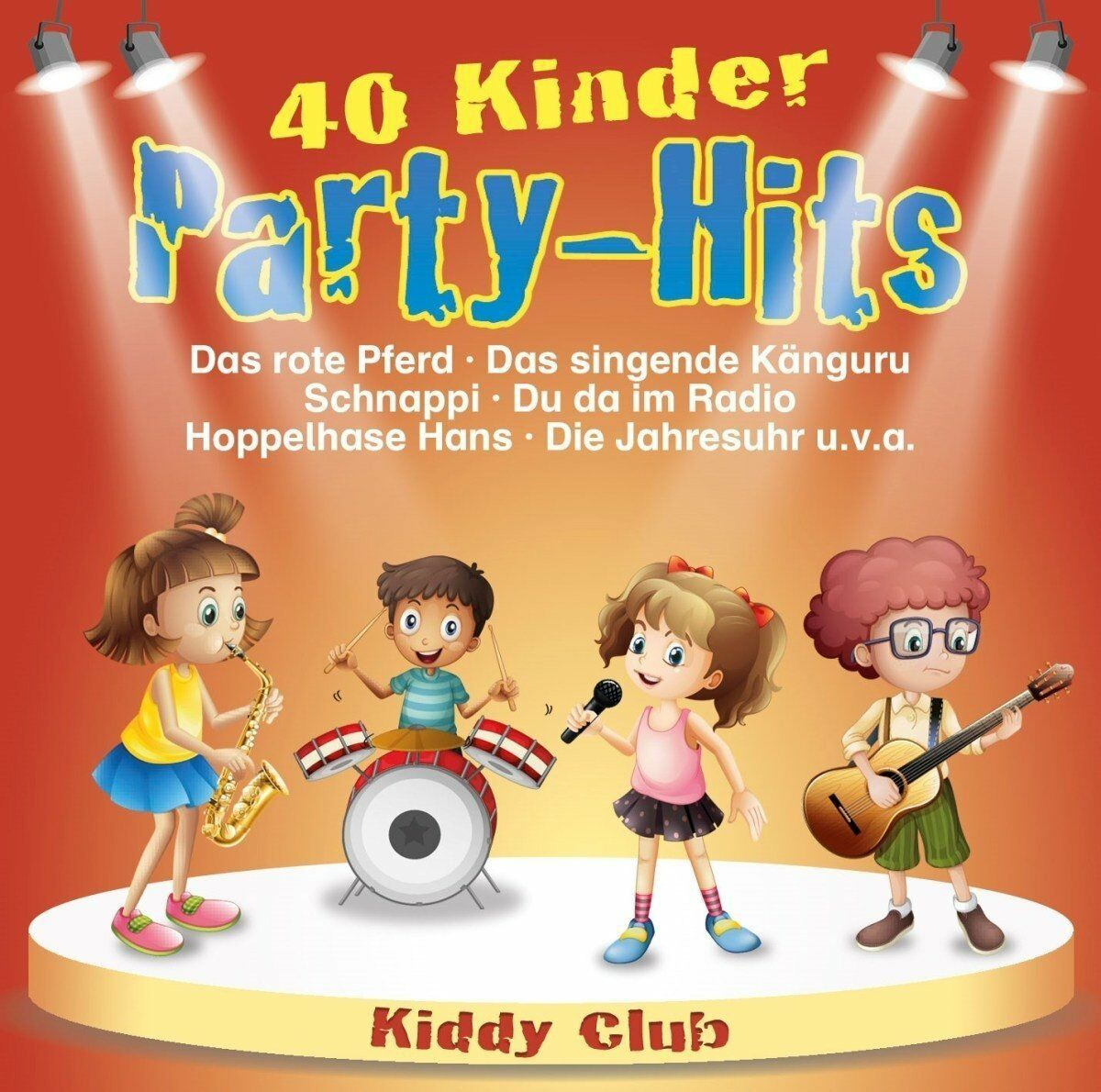 Kinderessen Party Kiddy Club 40 Kinder Party Hits 2 Cd