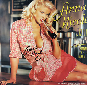 Unusual Girls Wallpaper Anna Nicole Smith 1995 Calendar By Anna Nicole Smith