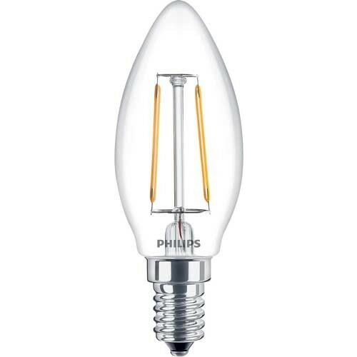 Philips Led Candle Kerze Filament E14 Glühbirne 2w 25w