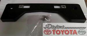 Oem Toyota Rav4 Front License Plate Holder 52114 0r090