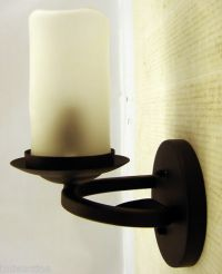 Candle Light Wall Sconce Electric Oil Rubbed Bronze | eBay