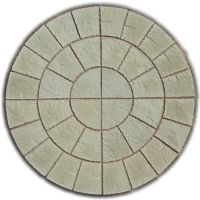 ROTUNDA CIRCLE PAVING PATIO SLABS GARDEN STONE ( DELIVERY ...