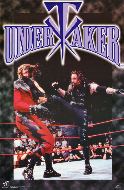 Collage Poster Poster: Wrestling : Undertaker - Wwf - Collage - Free
