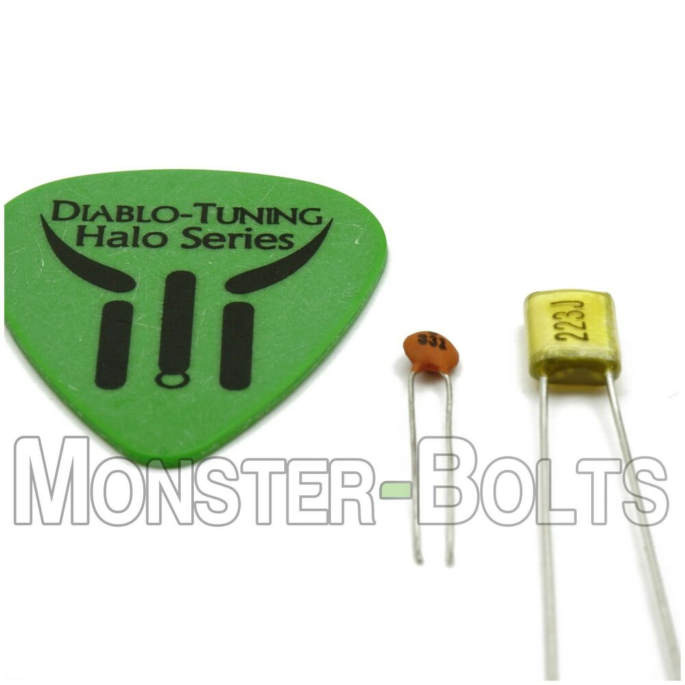 Tone  Volume Capacitor for your IBANEZ Guitar - Easy Upgrade to