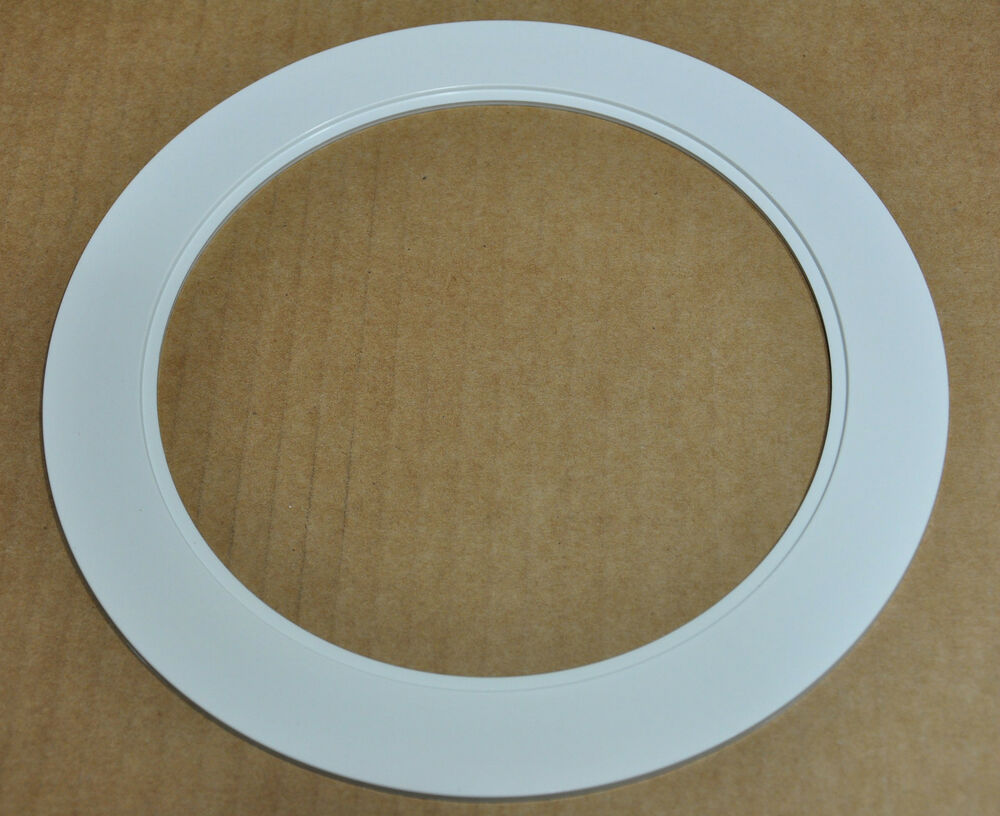 "Juno Recessed Lighting Trim 6"" Inch Over Size Trim Ring White Goof Ring For Recessed"
