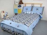 Blue Camouflage Army Boy Twin Childrens Bedding Set 4pc | eBay