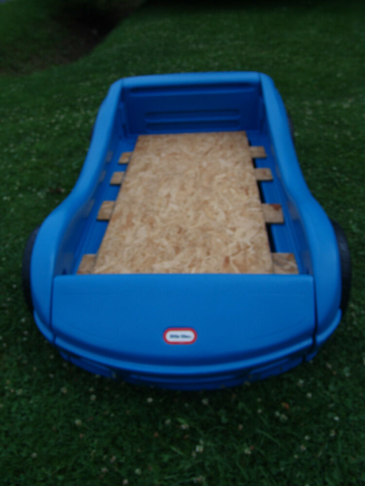 Little Tikes Sport Racing Design Child Size Toddler Bed