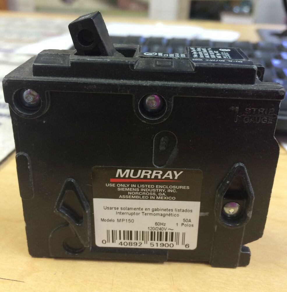 Murray Mp Mp120 1 Pole 20 Amp Circuit Breaker Crouse Hinds Auto 20amp Doublepole Type Mpcircuit Breakermp220u The Home Depot Mp150 Single 50