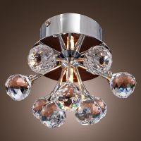 Flush Mount Crystal Ceiling Light Fixtures