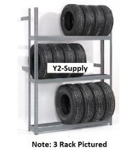NEW! 4 Tier Single Entry Tire Rack!! | eBay