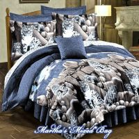 SNOW LEOPARD GRAY Jungle Wild CAT Wildlife Cabin Comforter ...