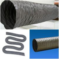 "8"" Flexible Duct Hose 8 inch PVC DUCTING Air HOSE 35ft ..."