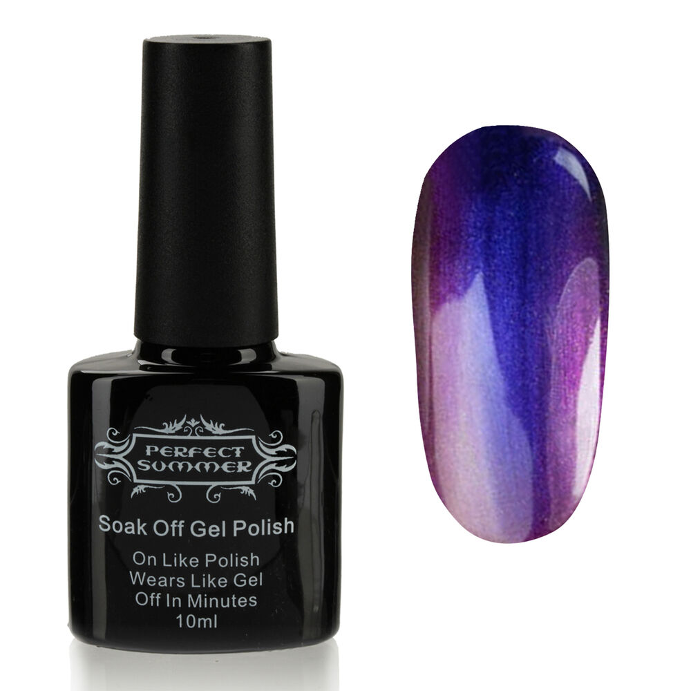 Chameleon Color Changing Uv Gel Polish Acrylic Nail