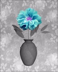 Turquoise Gray Home Decor Wall Art Photo Teal Aqua Print ...
