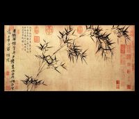 Chinese Calligraphy Painting Feng Shui Art Abstract Art ...