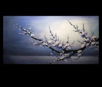 Wall Art Decor Japanese Cherry Blossom Large Canvas Prints ...