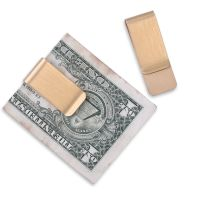 5 Gold plated Money Clip Purse Wallet Credit Card ID Cash ...
