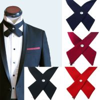 Cross Bowtie Mens Necktie Cravat Bow Pre Tie New Womens ...