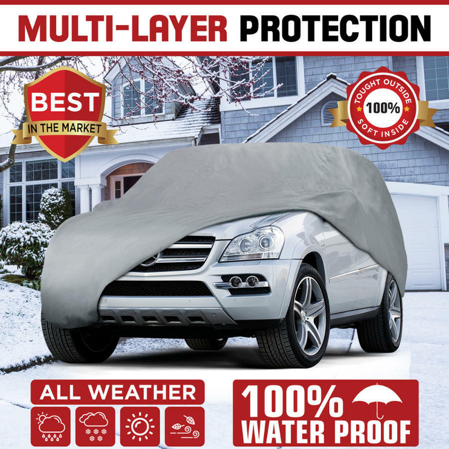 Outdoor Covers Motor Trend Waterproof Outdoor Van Cover For Auto Car Suv All Weather Protection Ebay