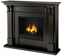 Real Flame Ashley Ventless Gel Fireplace- Black Wash ...