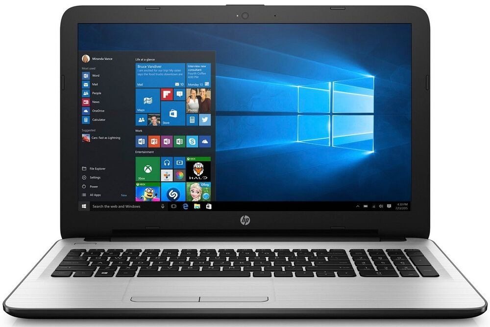 "Dvd Top 10 Hp Pavilion Laptop 15.6"" Led Quadcore 4gb 500gb Dvd+rw"