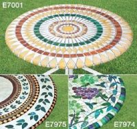 "NEW ELASTICIZED Mosaic Vineyard Grape 48"" Round Vinyl ..."