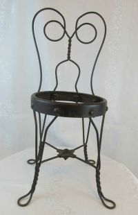 Antique Ice Cream Parlor Chairs - Bing images