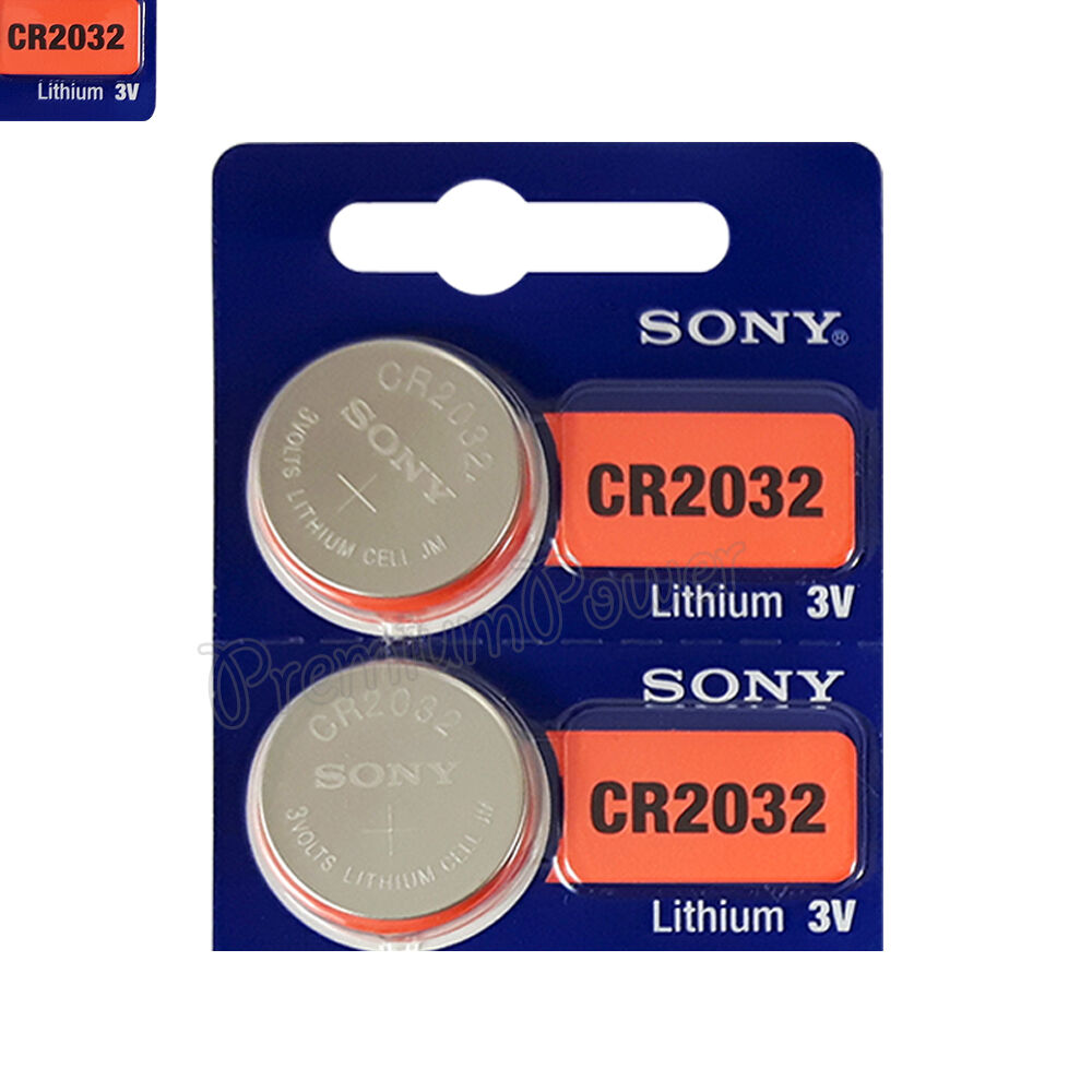Cr2032 Battery 2 X Sony Lithium Cr2032 Batteries 3v Coin Cell Dl2032 Remote Watch Exp 2025 Ebay
