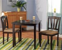 Small Kitchen Table Sets Nook Dining and Chairs 2 Bistro ...
