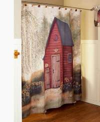 Rustic Country Primitive Outhouse Bathroom Decor ...