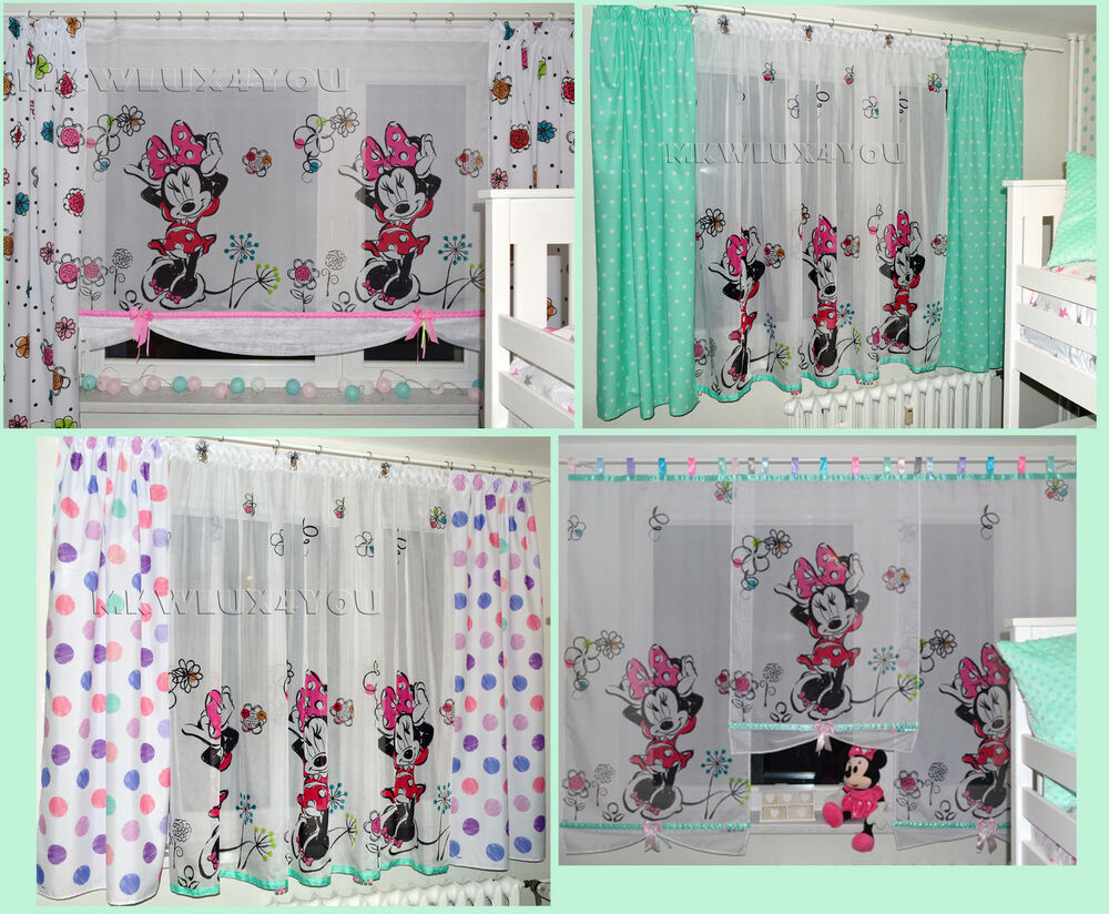 Kinderzimmer Gardinen Minnie Mouse Nett Minnie Mouse Kinderzimmer