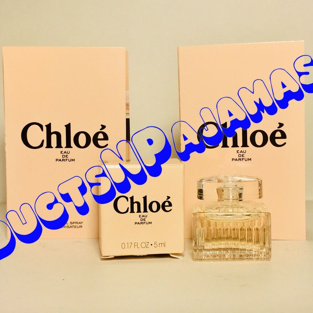 Chloe Eau Chloe Chloe Signature Eau De Parfum Mini 17oz 5ml New In Box 2 Samples 688575201970 Ebay