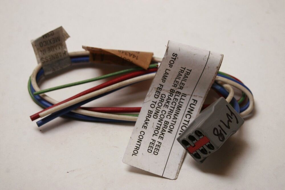 92 93 94 95 96 FORD F150 F250 97 F350 TRAILER TOW towing Pkg WIRE