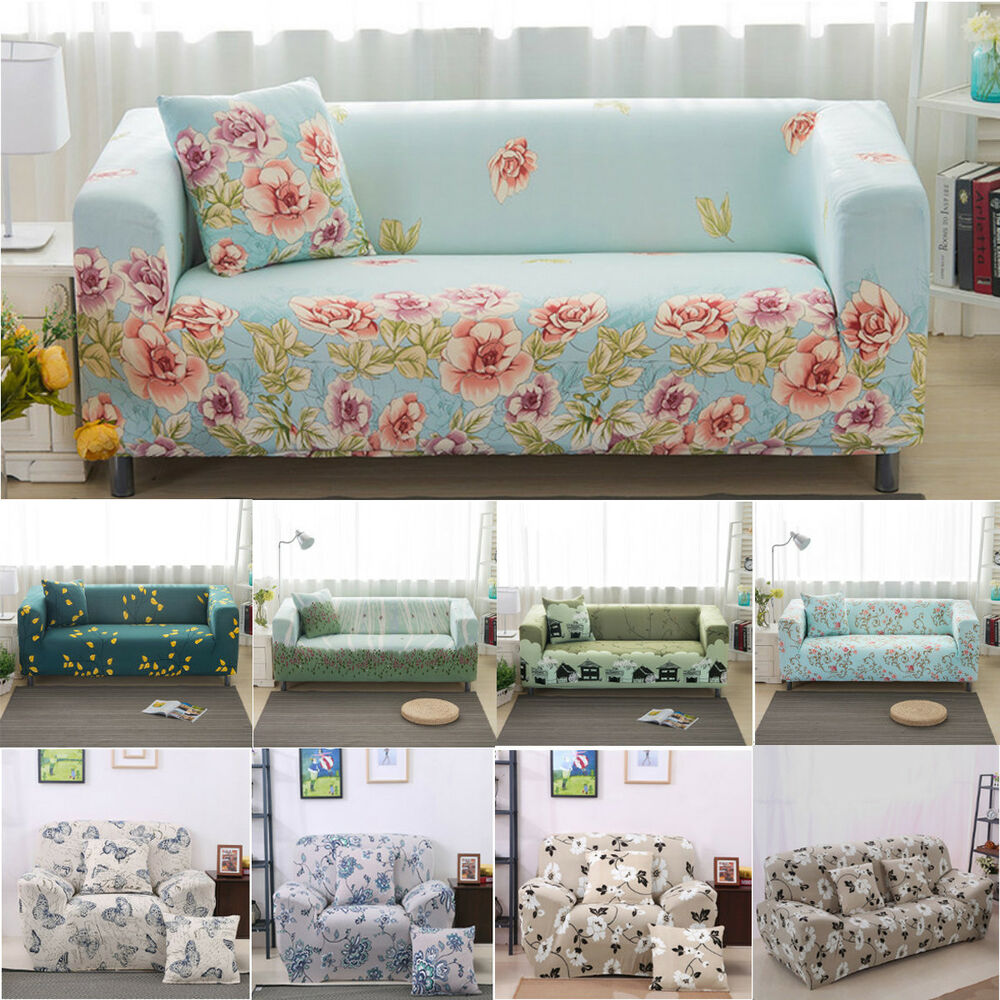 Sofa 3 Lugares Don Master 1 2 3 Seater Stretch Sofa Slipcover Protector Soft Couch Covers