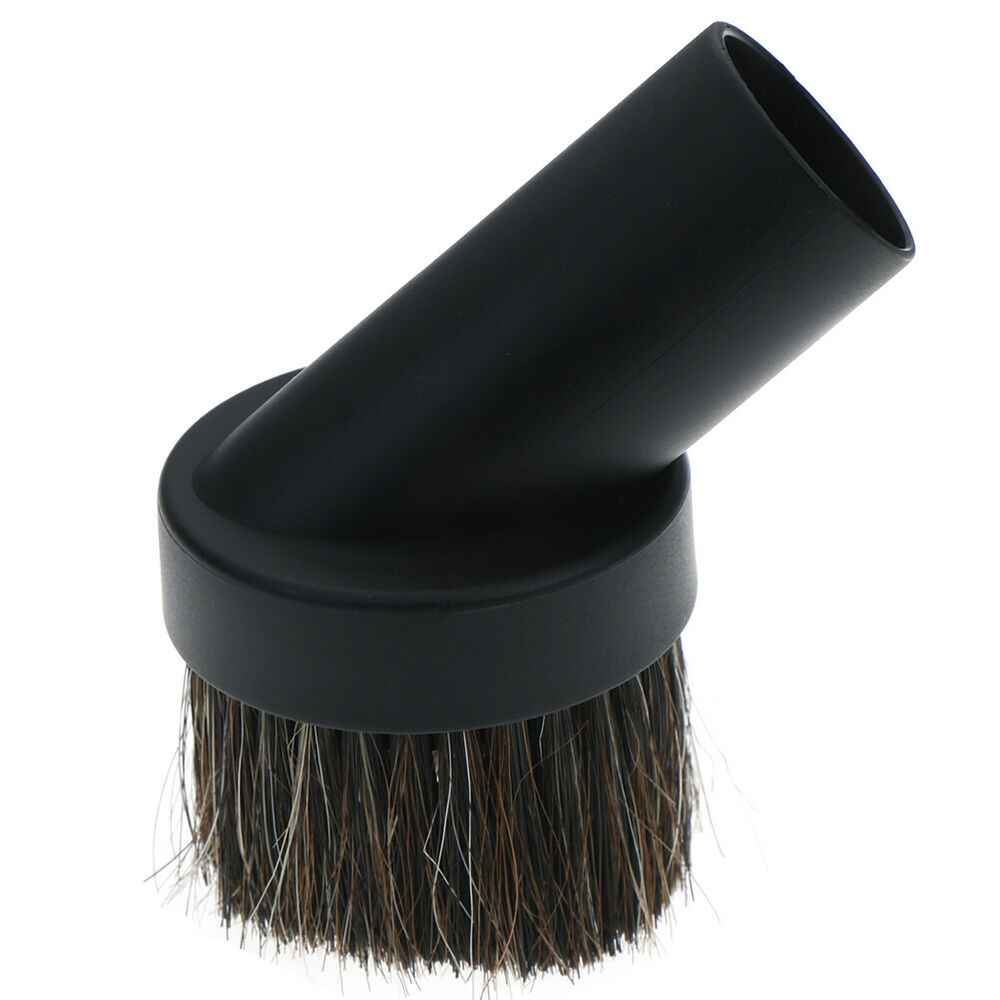 Sofa Vacuum Cleaner Brush 32mm Mixed Horse Hair Round Cleaning Brush Head Vacuum Cleaner