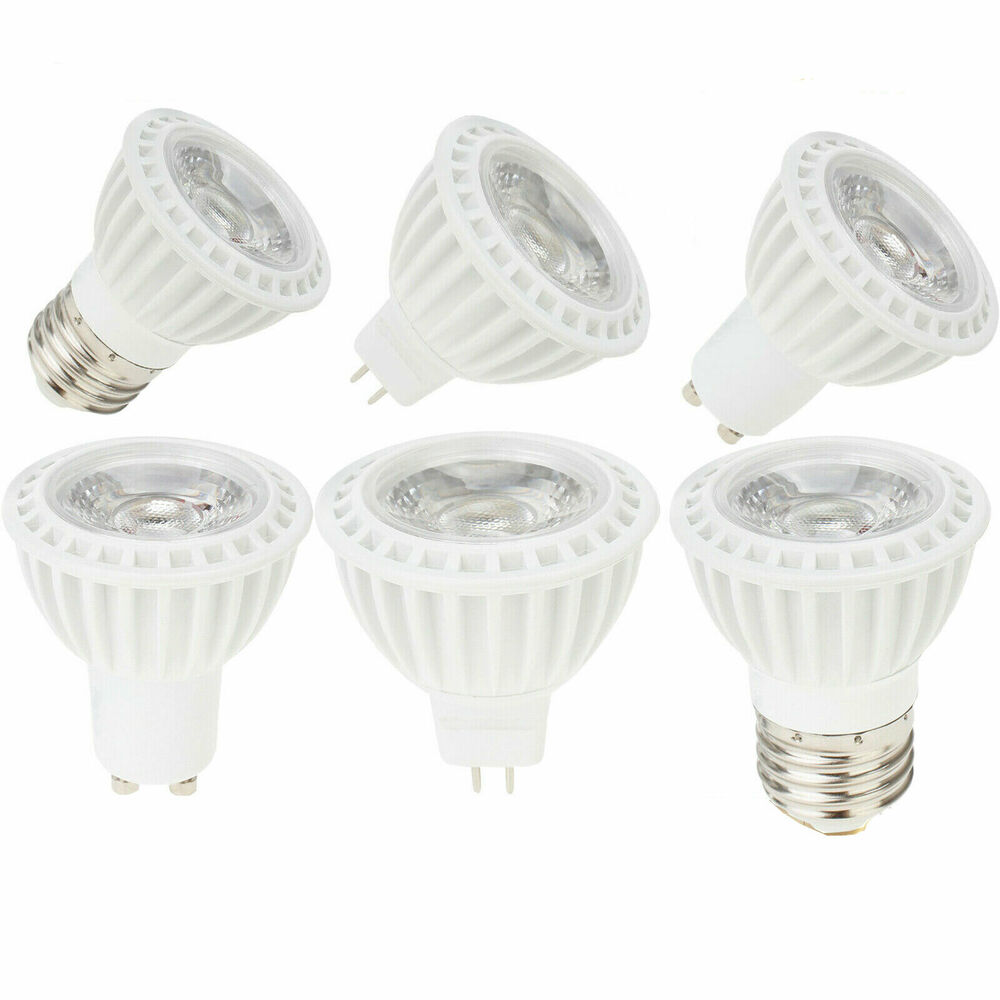 Halogen Spotlight Bulbs Dimmable 15w Led Cob Spotlight Bulb E27 Gu10 Mr16 Replace Halogen Lamp 110 220v Ebay