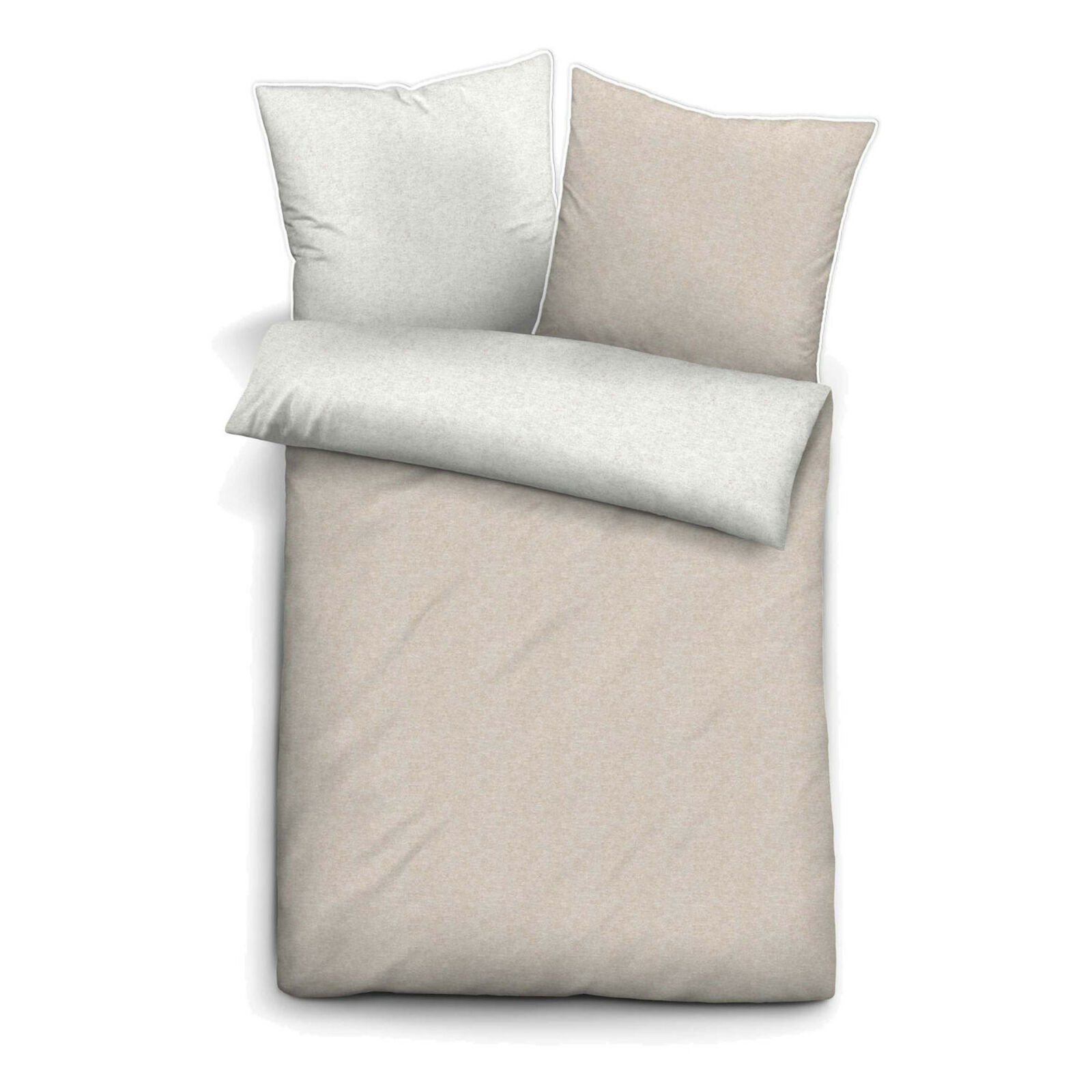 Bedding Flanell Bettwäsche Melange Castell Sterne Graphit Grau Baumwolle Warm 135x200 Cm Home Furniture Diy Breadcrumbs Ie