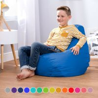 Childrens Tall Gamer Bedroom Bean Bags Beanbag Kids High ...