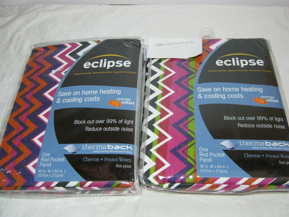 New eclipse thermaback chevron fun print woven window