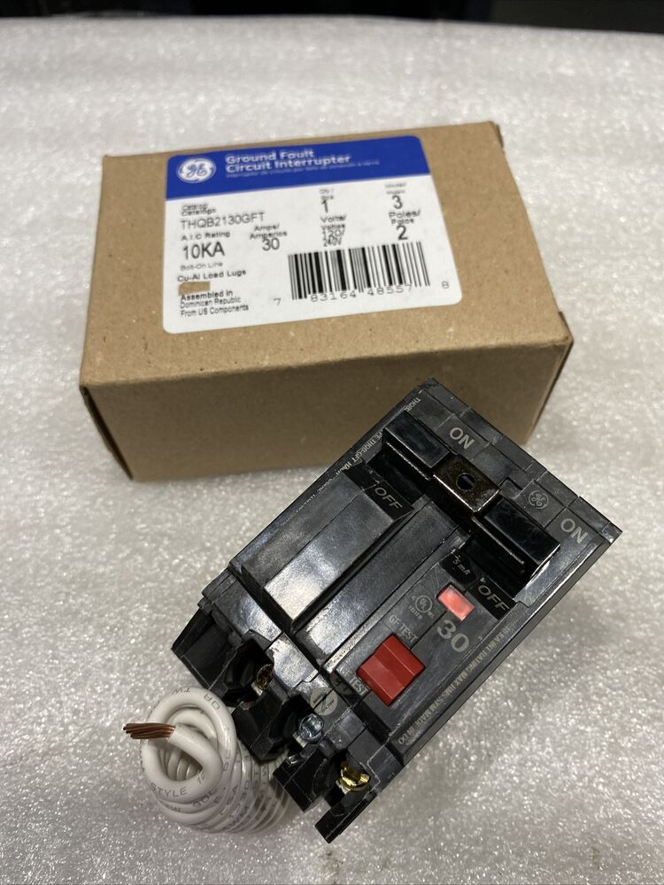 Thhql2180 Ge Circuit Breaker 2 Pole 80 Amp 120 240v New Auto Zinsco Breakers Used And Obsolete Breakerconnection Thqb2130gf Bolt
