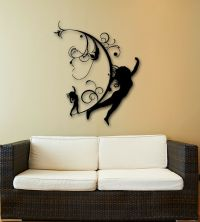 Wall Stickers Vinyl Decal Silhouette Beautiful Girl Modern ...