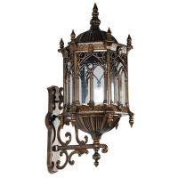 Wall Sconce Light Gothic styled UL listed Cast Aluminum ...