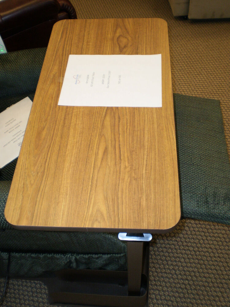 Ameriglide Ez Lift Chair Table Ebay