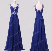 FREE SHIP Prom Dresses BEADED Bridesmaid Party Gown ...