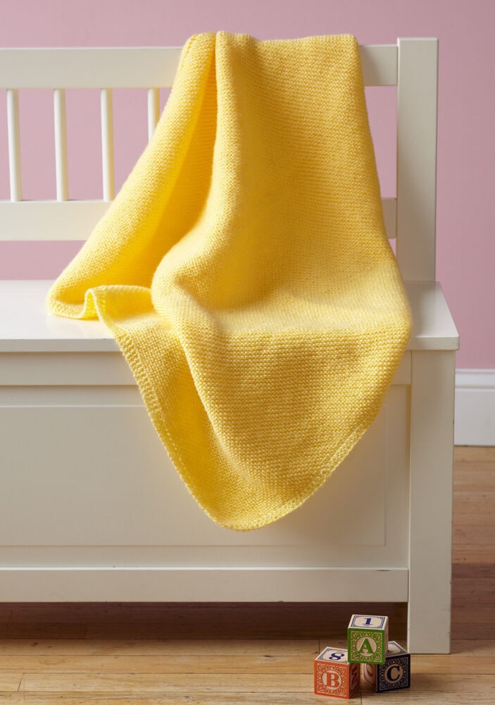 Baby Pram Double Knitting Pattern Easy Knit Baby Blanket Pattern In