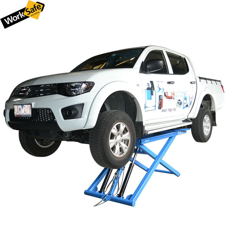 Portable Mid Rise Scissor Hoist Car Hoist Car Lift