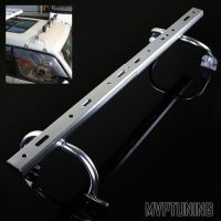 Silver Adjustable Gutter Mounting Roof Rack Light Bar for ...