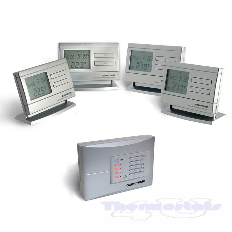 Multi Zone Wireless Programmable Thermostat Quality Room