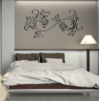 Wall Decal Plant Patterns Nature Leaves Art Room Vinyl